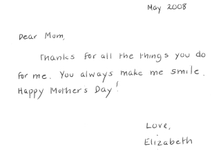 Mothers Day 2008